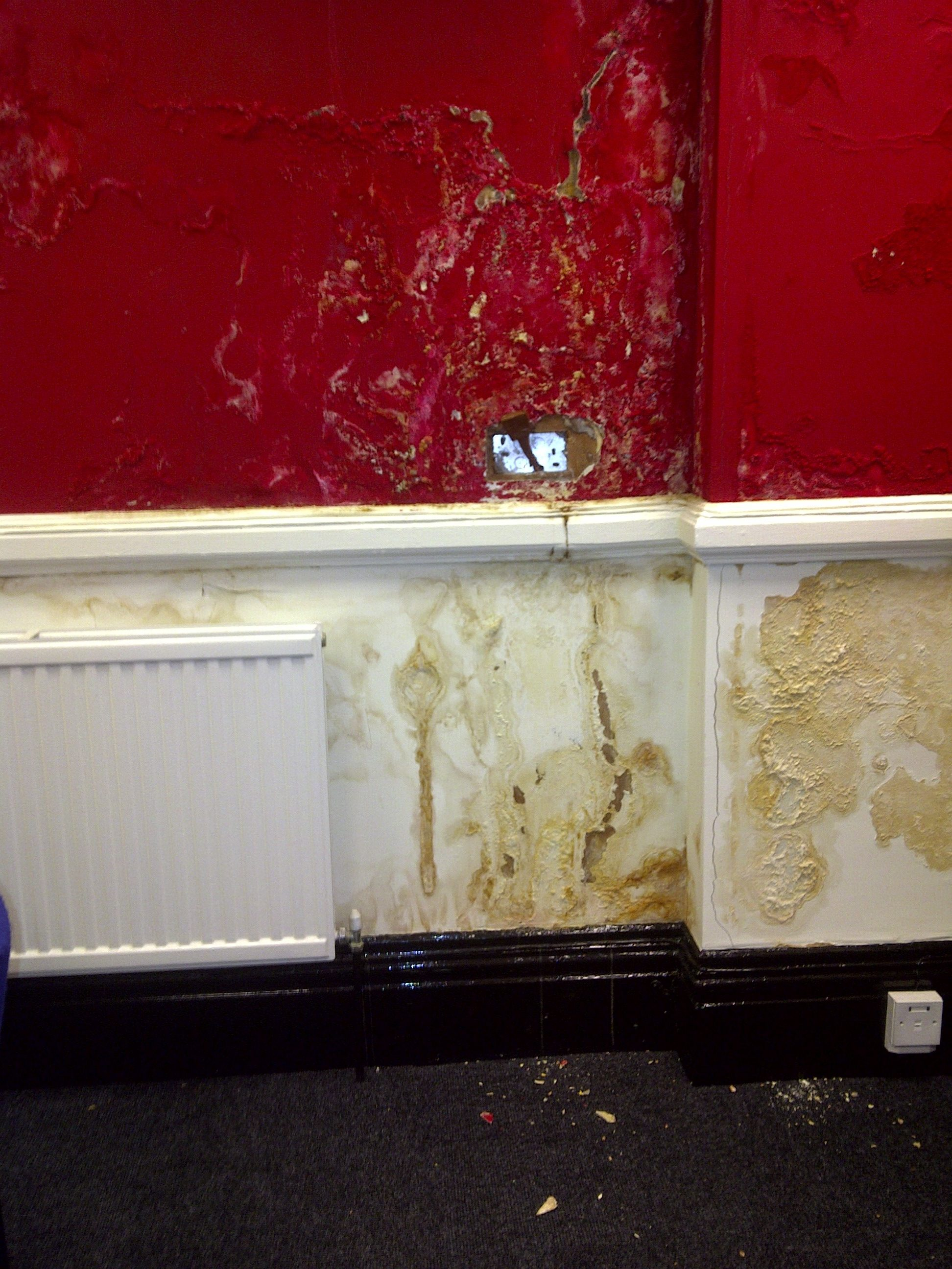 Damp Membrane Example - Stage 1