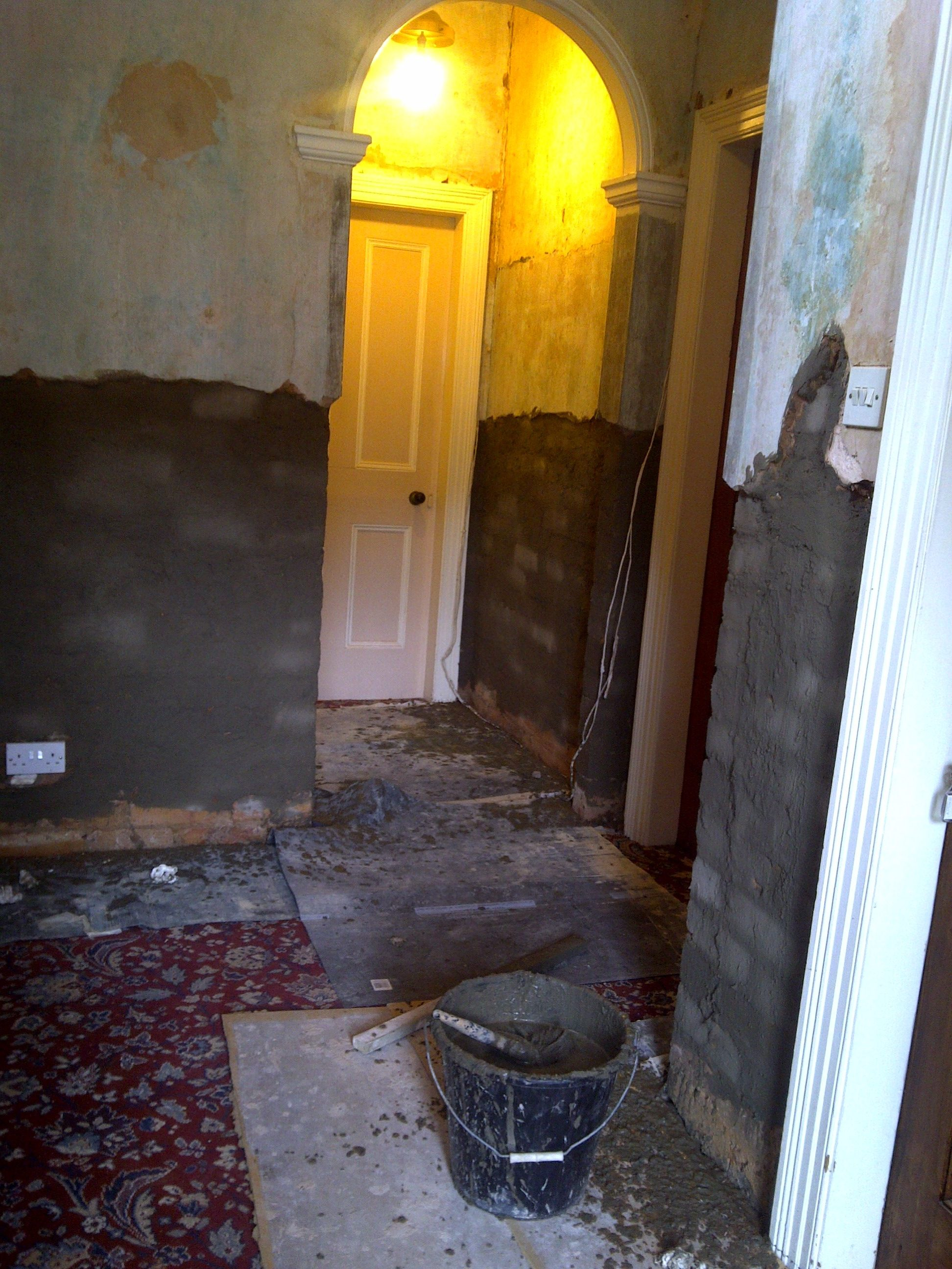 Rising Damp Example 1 - Before