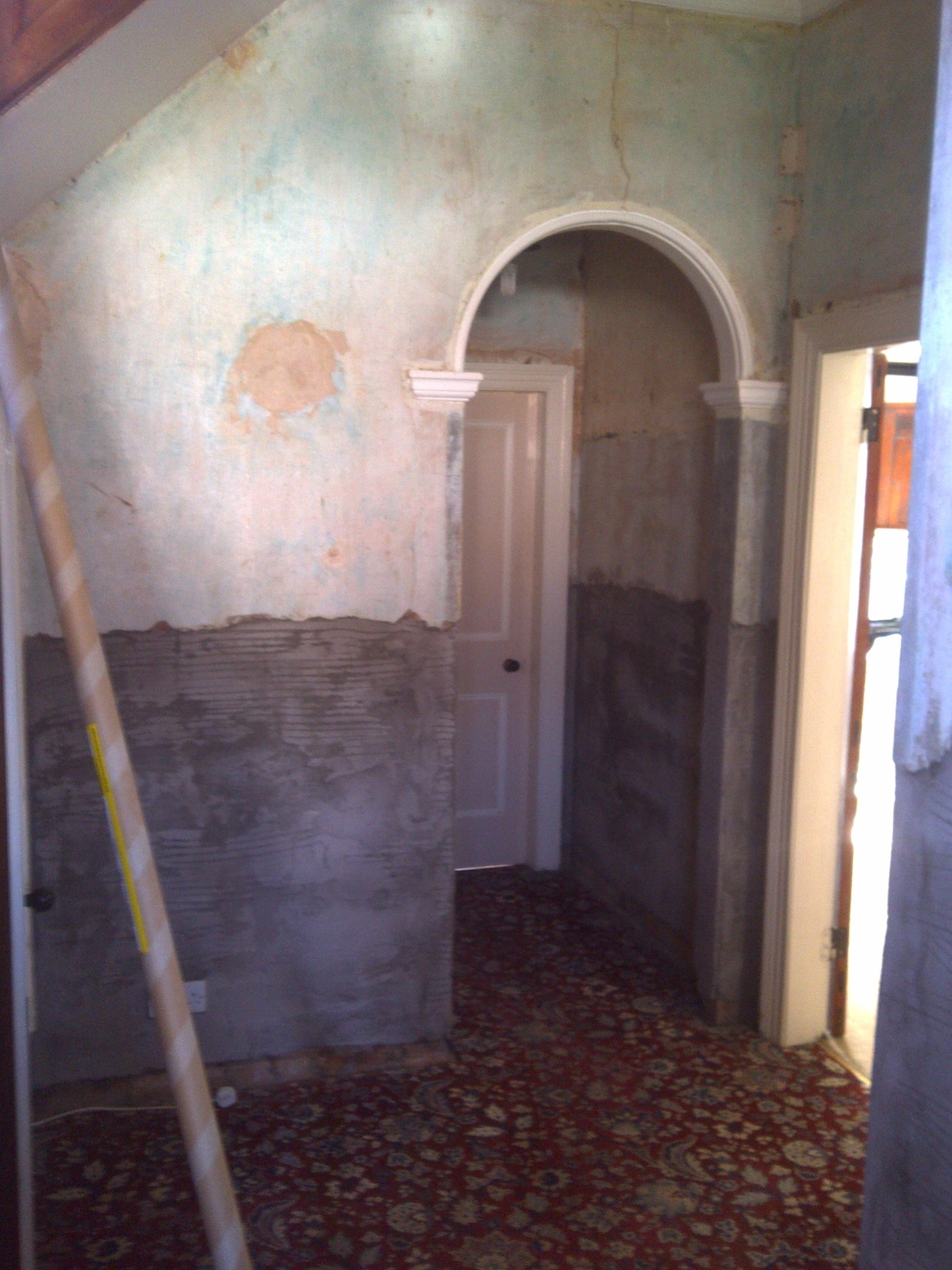 Rising Damp Example 1 - During